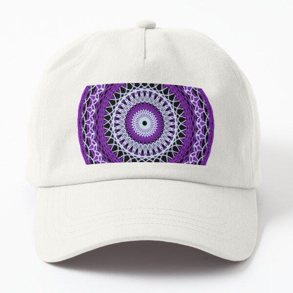 Batik circle motif Dad Hat