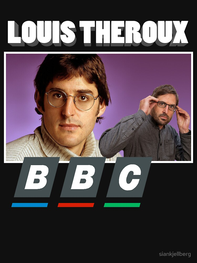 Louis Theroux Print | Unisex T-Shirt