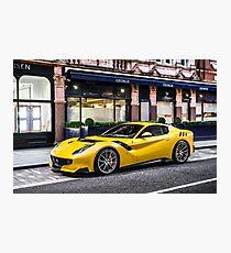 Ferrari F12 TDF Photographic Print