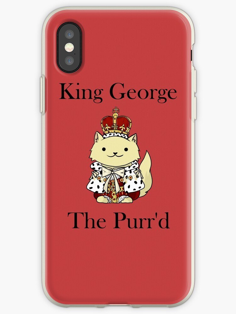 «El rey Jorge el Purr'd» de itsjohnlock