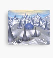 Science Fiction Landscape Canvas Print