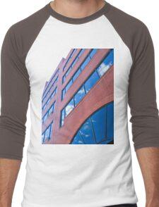 A Vivid Day Reflected  Men's Baseball ¾ T-Shirt