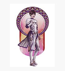 Joan of Arc (Badass Women of History Collection) Photographic Print