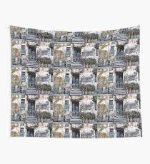 VIETNAMESE FACADE Wall Tapestry