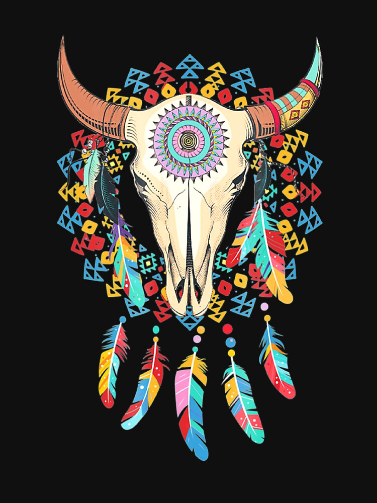 Cow Skull Awesome Holidays by Burgesscs