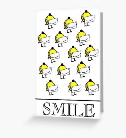 Smile VRS2 Greeting Card