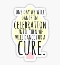 Pegatina Dance for a Cure