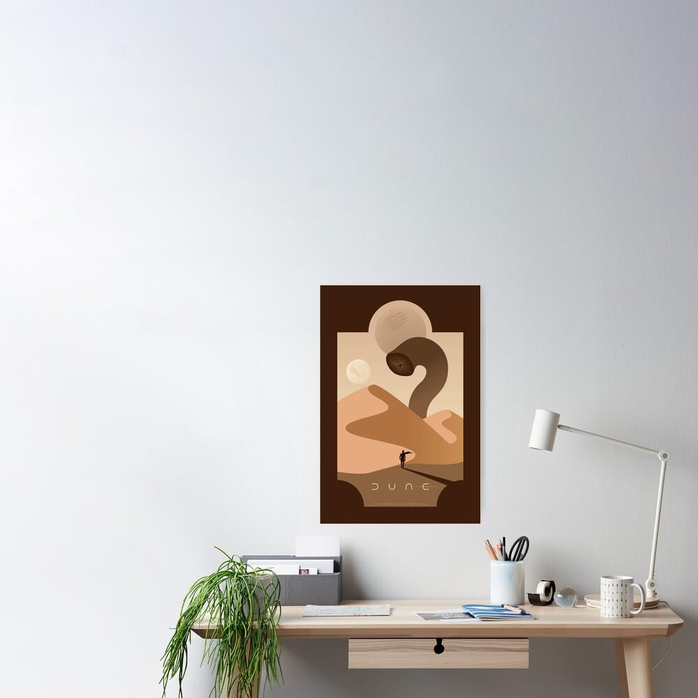 Arrakis Sandworm Poster