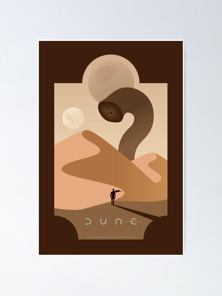 Alternate view of Arrakis Sandworm Poster