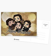 The Musketeers - Happy Birthday Postcards