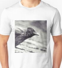 Crow In The Rain Unisex T-Shirt