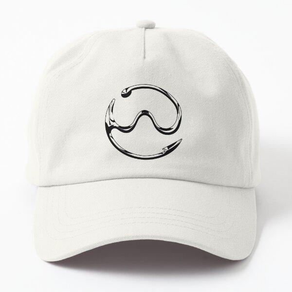 Gaga Chromatica logo (Monochrome) Dad Hat