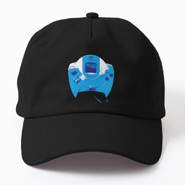 Dreamcast manette version bleue Casquette Dad Hat