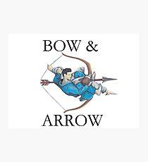Jiu Jitsu Bow & Arrow Photographic Print