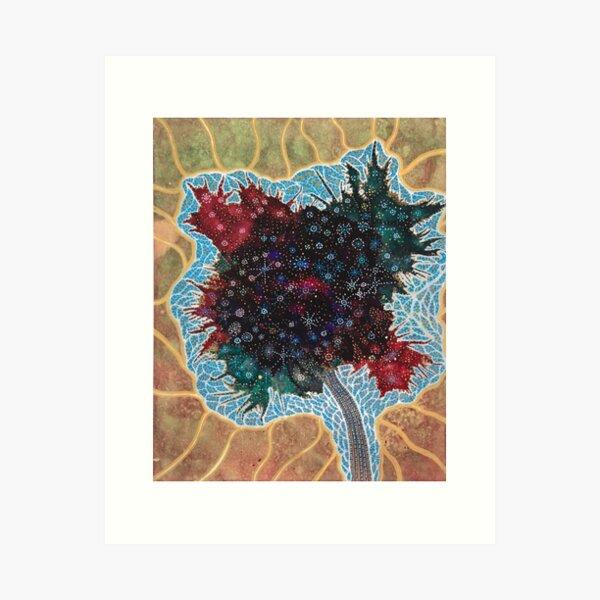 the leaf of life Art Print