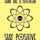 Think like a proton - YELLOW by garigots