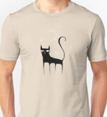 A Black Cat Unisex T-Shirt
