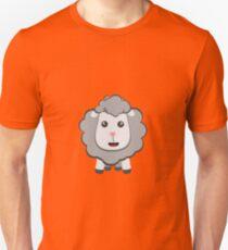 Big eyed kawaii sheep Unisex T-Shirt
