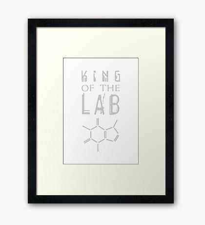 King of the LAB VRS2 Framed Print