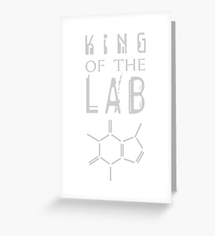 King of the LAB VRS2 Greeting Card