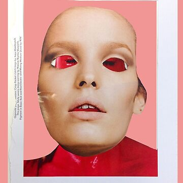 Face. Red - Pink Collection. Collage ® by creative-bubble
