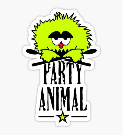 Party animal VRS2 Sticker