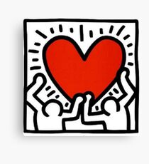 Keith Haring Love Me Canvas Print