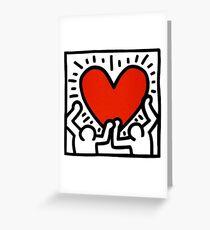 Keith Haring Love Me Greeting Card