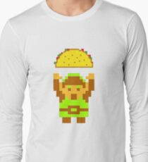 Link and a taco Long Sleeve T-Shirt