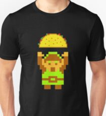 Link and a taco Unisex T-Shirt