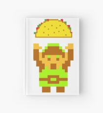 Link and a taco Hardcover Journal