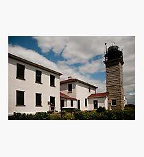Beavertail Lighthouse Photographic Print