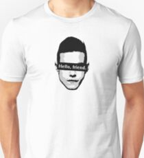 "Elliot Alderson: ""Hello, friend"" (Mr. Robot) Unisex T-Shirt"