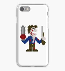 Ash with Chainsaw & Boom Stick iPhone Case/Skin