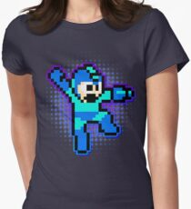 Megaman Shooting flavour Women's Fitted T-Shirt