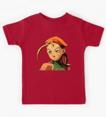 Cammy  streetfighter chick Kids Tee