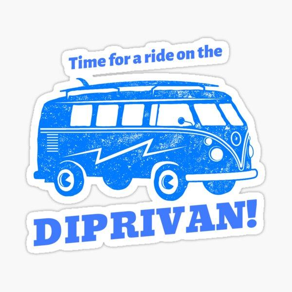 Zeit für eine Fahrt mit dem DIPRIVAN! Sticker