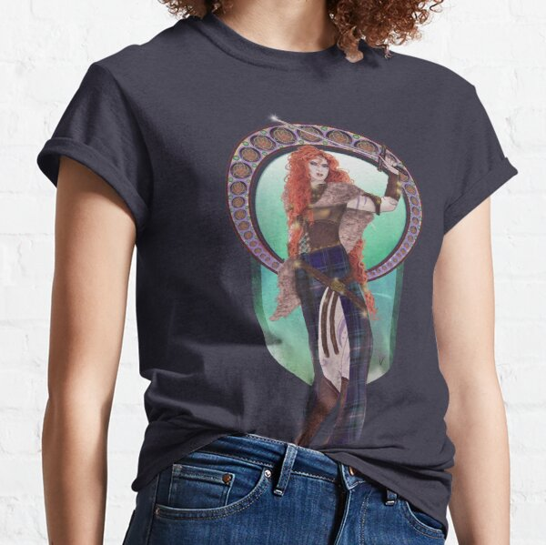 Boudicca (Badass Women of History Collection) Classic T-Shirt