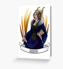 Occultist Greeting Card