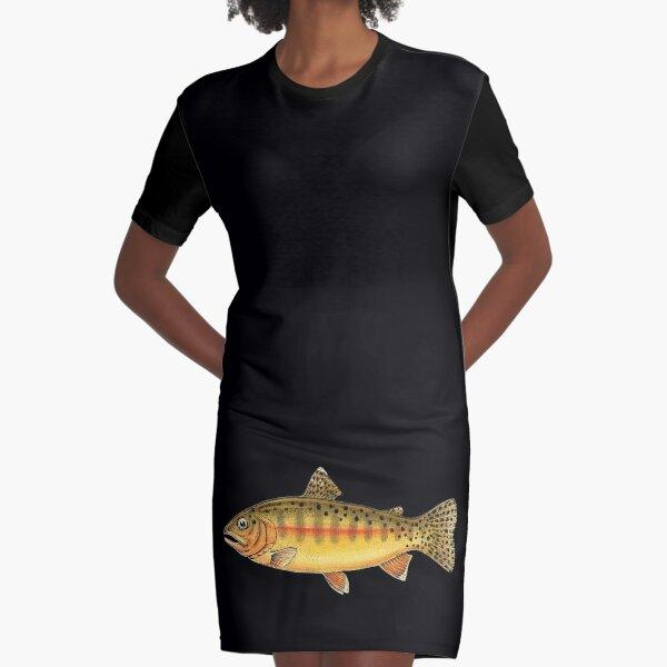 Golden Trout Graphic T-Shirt Dress