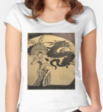 MOVIE STARS ANNA MAY WONG Women's Fitted Scoop T-Shirt