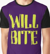 Will Bite Graphic T-Shirt