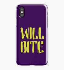 Will Bite iPhone Case