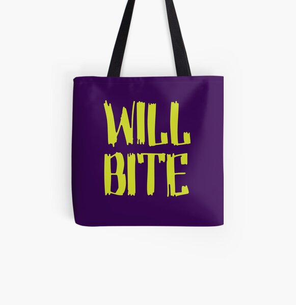 Will Bite All Over Print Tote Bag
