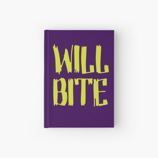 Will Bite Hardcover Journal