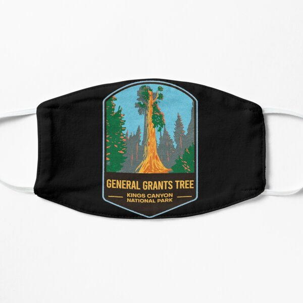 General Grants Tree Kings Canyon National Park Flat Mask