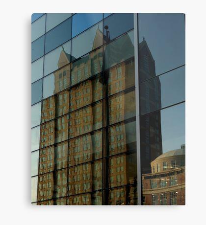 Reflection of Providence Metal Print