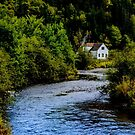 House on Margaree River by kenmo