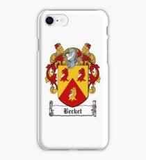 Becket iPhone Case/Skin