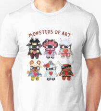 Monsters of Art Unisex T-Shirt